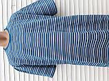 Мужская футболка большого размера 58 размер Бежево-белые полоски, фото 3