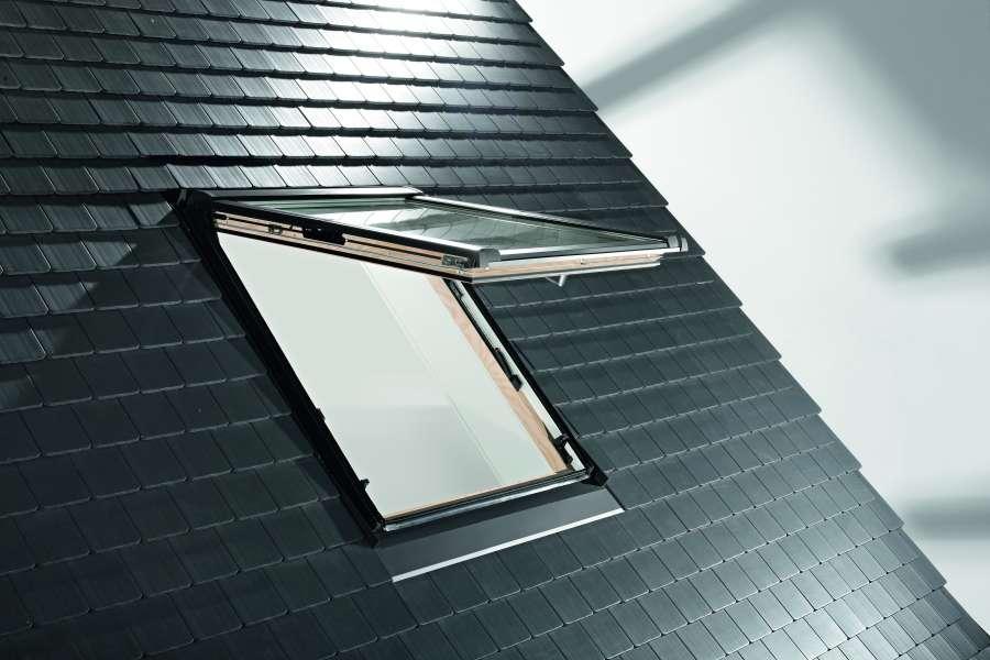Вікно мансардне Designo WDF R89P H N WD AL 09/11