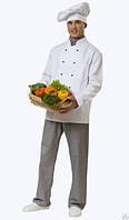 Костюм  шеф повара, китель поварской, поварской костюм