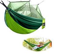 Туристический гамак с москитной сеткой Hammock Net Green SKL11-292481