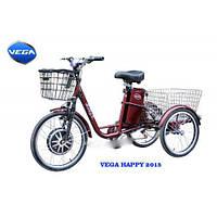 Электровелосипед VEGA HAPPY (трицикл) + реверс