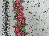 Ткань Для Скатертей Рогожка Веночек, фото 1