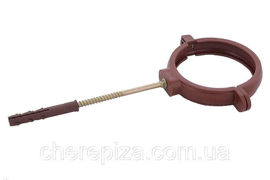 Держак труби Profil пласт. L160 130 коричневий