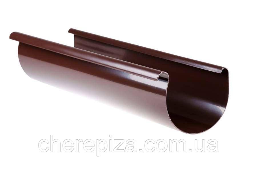 Ринва Profil 130 коричнева 3м