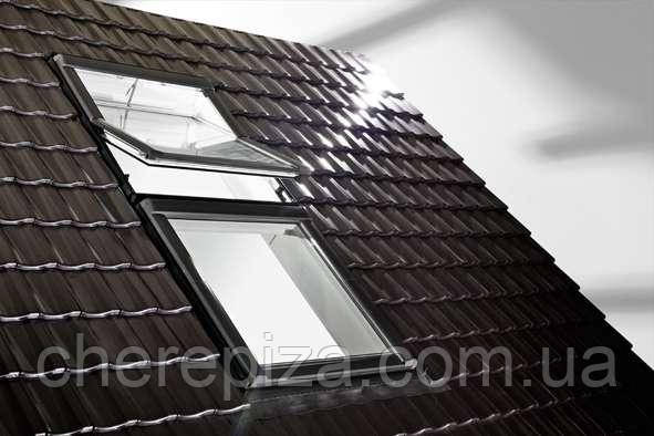 Вікно мансардне Designo WDT R45 K W AL 09/14 E