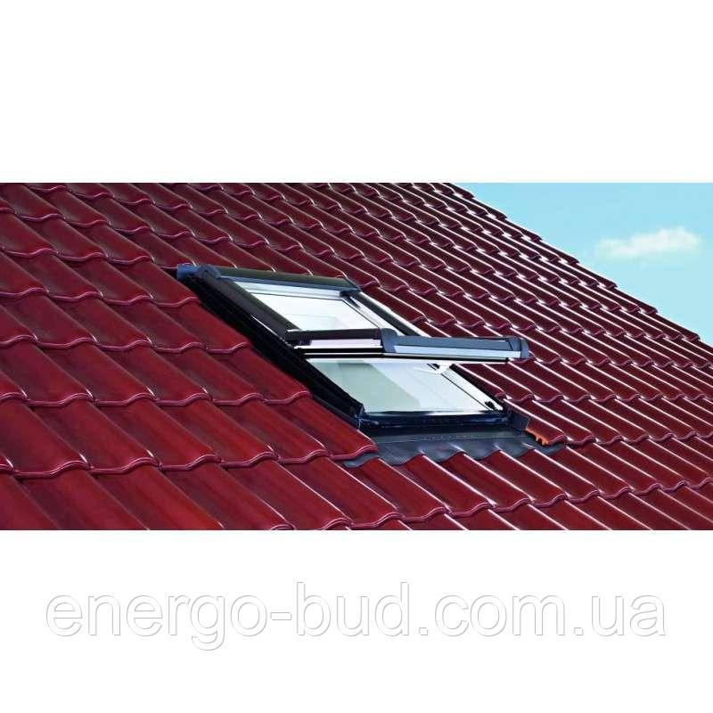 Вікно мансардне Designo WDF R45 K W WD AL 11/14