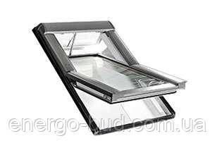 Вікно мансардне Designo WDT R45 K W AL 05/07 E