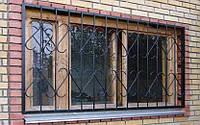 Раздвижная решетка на окно