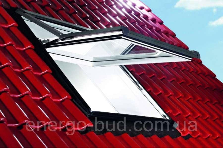 Вікно мансардне Designo WDF R75 K W WD AL 11/11