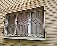 Решетки на окнах первого этажа
