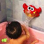 Іграшка дитяча для ванни піноутворювач Музичний краб з 18 місяців, фото 6