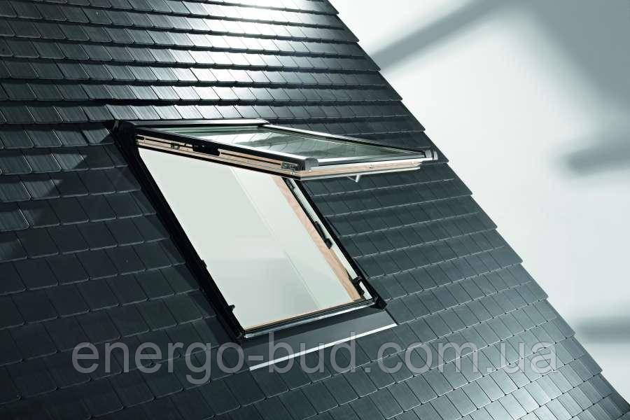 Вікно мансардне Designo WDF R89P H N WD AL 05/11