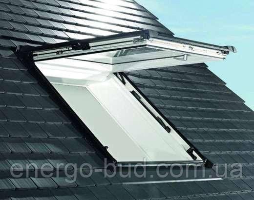 Вікно мансардне Designo WDF R89P K W WD AL 05/09