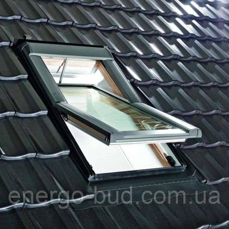 Вікно мансардне Designo WDT R69 G H N WD AL 05/09 E