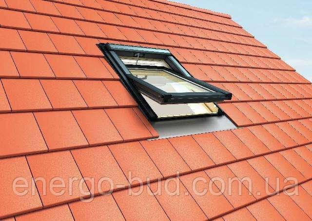 Вікно мансардне Roto QT-4_H3P AL 114/118 P5F