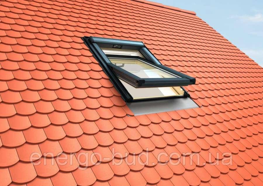 Вікно мансардне Roto Q-4_ H3C AL 055/118 S0