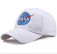 Кепка Бейсболка Мужская Женская NASA НАСА Белая, фото 1