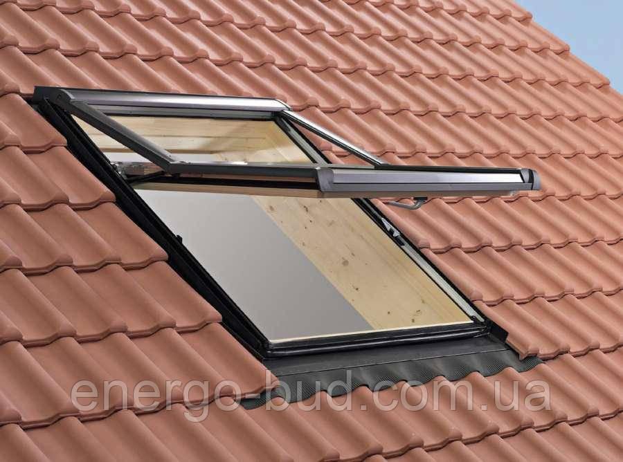 Вікно мансардне Designo WDF R79 H N WD AL 07/16