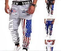 Мужские стильные спортивные штаны МД 0104-И, фото 1