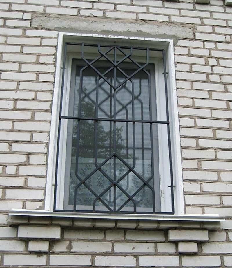 Решетки на окна открывающиеся