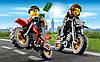 LEGO 60042 City - Гонитва за злодюжками-байкерами (Лего Сити Погоня за воришками-байкерами), фото 4
