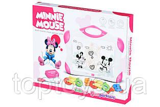 Магнітна дошка Same Toy для навчання рожева (009-2044CUt)