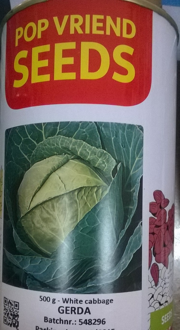 Капуста Герда 500г (банка) Pop Vriend Seeds