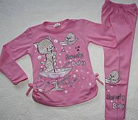 Туника+лосины 3,4,5,6 года детская одежда Турция