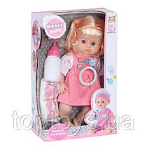 Лялька Same Toy в плаття в клітинку 35 см (8018P2Ut)