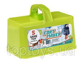 Ігровий набір Same Toy Snow Fort Maker 2 в 1 зелений (618Ut-1)