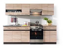 Кухня 240 Junona Line BRW дуб сонома/венге