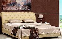 Кровать двуспальная Камелия белая 1,6м