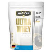 Протеїн Maxler Ultra Whey, 900 грам молочний Банановий коктейль