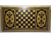 Набор 2-в-1: нарды + шахматы (БАМБУК), фото 1