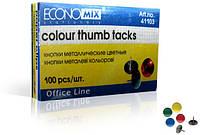 Economix Кнопки цветные E41103