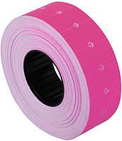 Economix Этикетки-ценники 21х12мм розовые 1000шт (E21301-09)