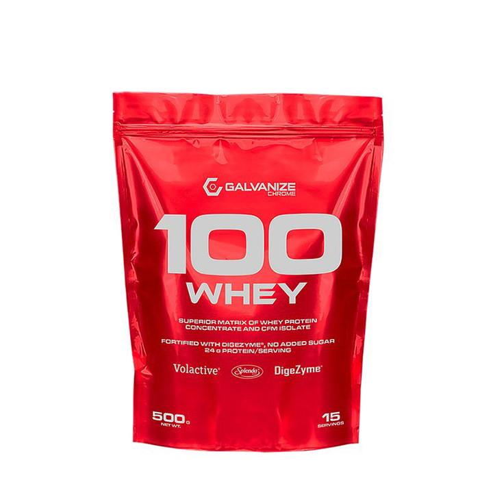 Протеин Galvanize Chrome 100% Whey, 500 грамм Ягодный микс