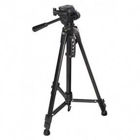 Универсальный штатив 3520 для видеокамеры, фотоаппарата или смартфона, максимальная высота 140 см, фото 2