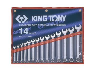 Набор ключей комби 14шт. (8-24мм) KINGTONY 1215MR01