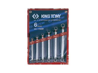 Набор ключей накидные 6шт. (6-17 мм) KINGTONY 1706MR