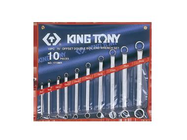Набор ключей накидные 10шт. (6-32 мм)