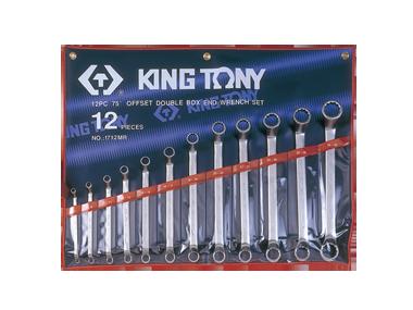 Набор ключей накидных 12шт. (6-32мм) KINGTONY