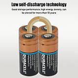 Батарея DURACELL Ultra Lithium CR123, CR17345, 16340 1550mAh (Не заряжаемая литиевая батарейка / до 2026 года), фото 8