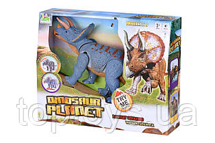 Інтерактивна іграшка Same Toy Dinosaur Planet Тріцератопс (RS6167AUt)
