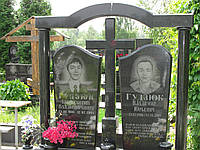 Памятник на двоих № 3038, фото 1
