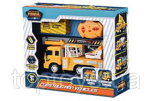 Машинка на радіоуправлінні Same Toy City Кран з кошиком жовтий (F1605Ut)