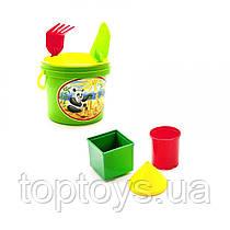 Пісочний набір Юніка 7 предметів в асортименті (0484)