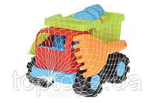 Набір для гри з піском Same Toy Вантажівка червоний (988Ut-1)