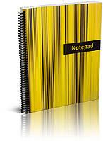 """Economix Блокнот """"Аккорд"""" А4, 48 листов, боковая спираль, цвета - ассорти арт. E20236"""