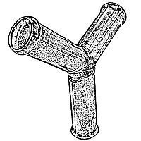 Трійник для гбо Y-підібний 20 мм
